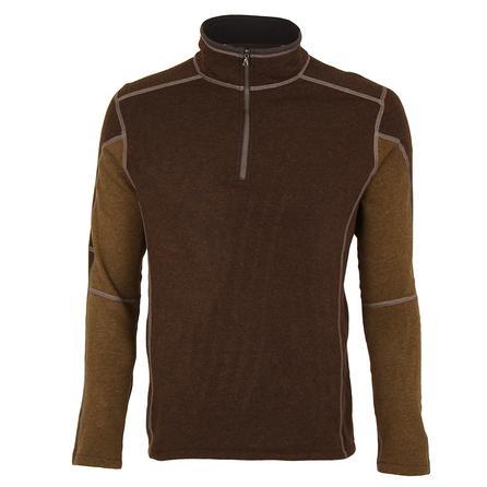 Kuhl Revel 1/4-Zip Fleece Sweater (Men's) - Charcoal/Olive