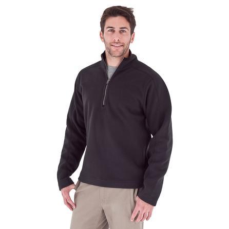Royal Robbins Gunnison ¼-Zip Fleece Top (Men's) - Jet Black