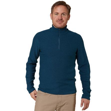 Royal Robbins Fireside Wool Half Zip Sweater (Men's) - Dark Atmosphere