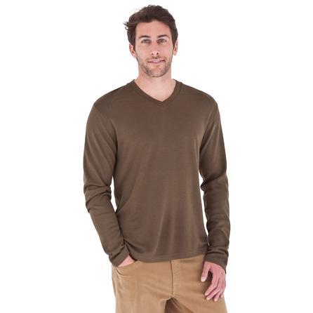 Royal Robbins Duke V-Neck Sweater (Men's) - Timber