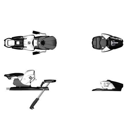Salomon L7 Junior Ski Binding (Kids') - Black/White