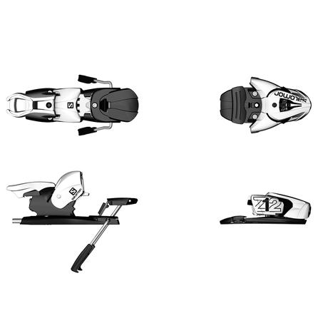 Salomon Z 12 100 Ski Binding - White/Black