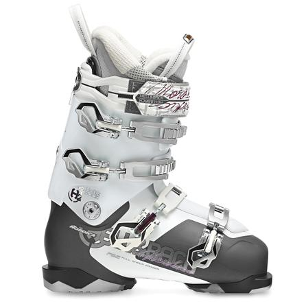 Nordica Hell N Back H2 Ski Boot (Women's) - Smoke/White