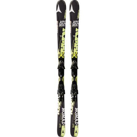 Atomic Radon Ti Ski System with Bindings -