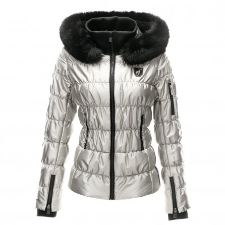 Toni Sailer Sophie Metallic Fur Insulated Ski Jacket (Women's) -