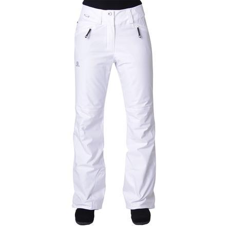 Salomon Brilliant Insulated Ski Pant (Women's) - White