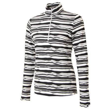 Sno Skins Twisted Stripe Zip Top (Women's) -