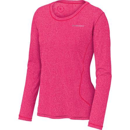 Brooks Versatile EZ Long Sleeve Running Top (Women's) - Heather Pink