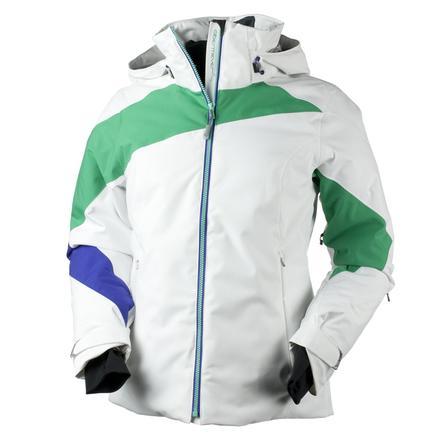 Obermeyer Nova Insulated Ski Jacket (Women's) - Juniper/White
