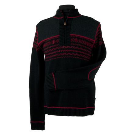 Obermeyer Otis Sweater (Men's) - Black/True Red