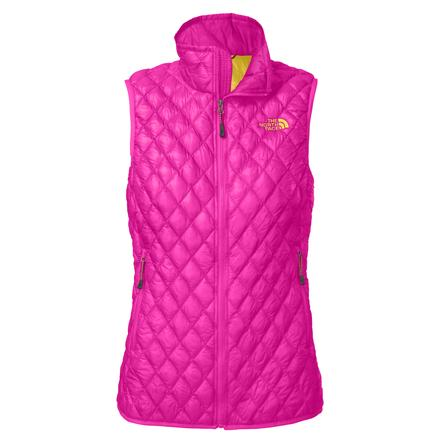 The North Face ThermoBall Insulated Vest (Women's) - Azalea Pink