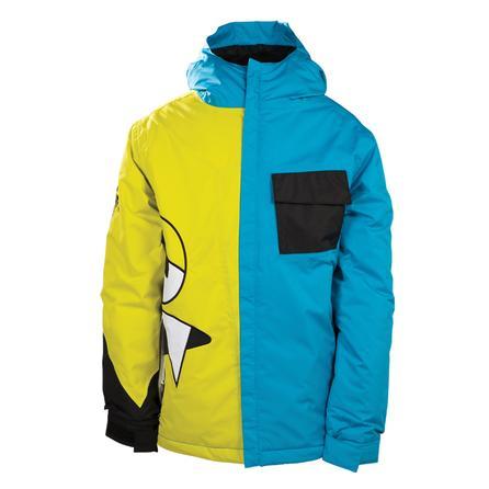 686 Snaggleface Snowboard Jacket (Boys') - Cyan