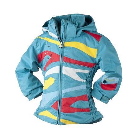 Obermeyer Kismet Ski Jacket (Little Girls') - Ocean Surf Print