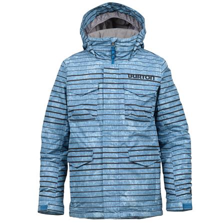 Burton White Collection Cannon Snowboard Jacket (Boys') -