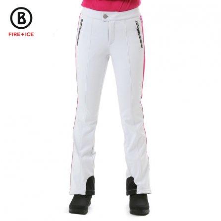 Bogner Fire + Ice Jet Stretch Ski Pant (Women's) - White/Pink
