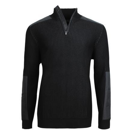 Bugatchi Rib Zip Neck Sweater (Men's) -