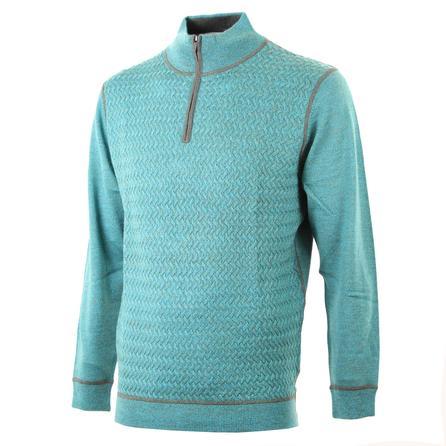 Bugatchi 1/2-Zip Sweater (Men's) - Emerald