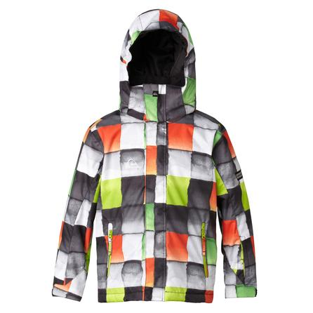 Quiksilver Mission Youth Print Snowboard Jacket (Boys') -