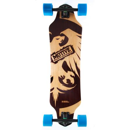 Never Summer Motive Longboard Skateboard -