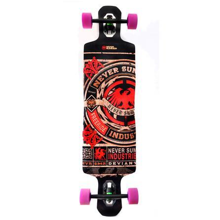 Never Summer Deviant Longboard Skateboard -