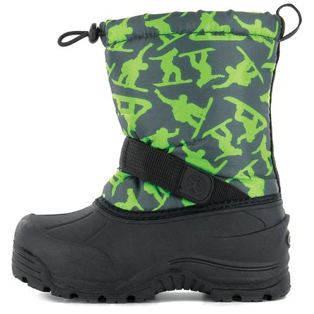 Northside Frosty Boot (Little Kids') - Dark Gray/Green