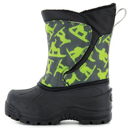 Northside Snoqualmie Boot (Little Kids') - Dark Gray/Green