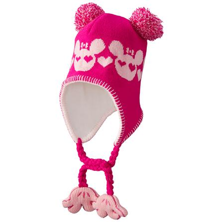 Screamer Sookie Aviator Hat (Little Girls') - Fushia/Pink