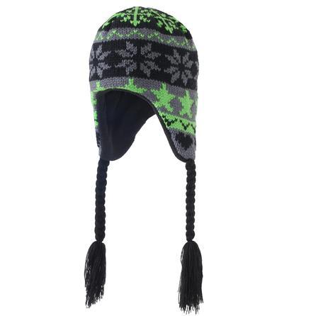 Screamer Let It Snow Hat (Little Boys') - Black/Green