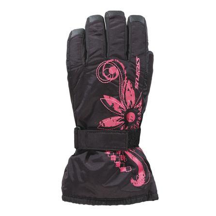 Seirus Jr Meadow Glove (Kids') - Black/Fuchsia