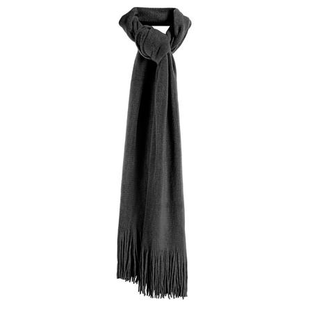 Elan Blanc Super Soft Muffler Scarf (Women's) - Black