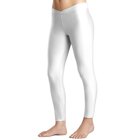 Snow Angel Doeskin V Waist Baselayer Legging (Women's) - White