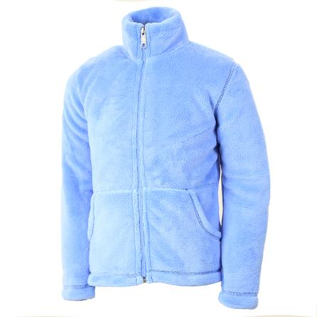 White Sierra Magic Mountain Fleece Jacket (Girls') - Sky