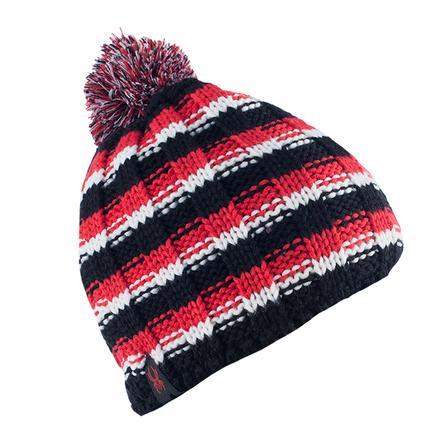 Spyder Bariloche Hat (Boys') - Black/Volcano/White