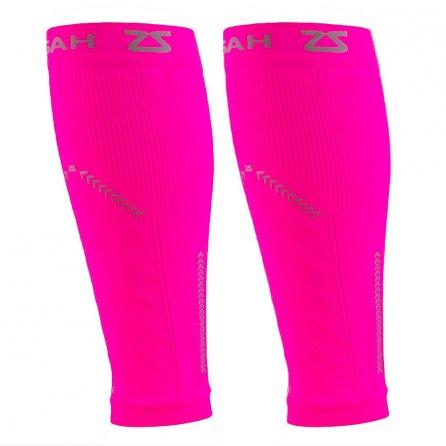 Zensah Reflect Compression Leg Sleeve (Adults') - Neon Pink