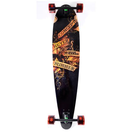 Never Summer Concept Longboard Skateboard -
