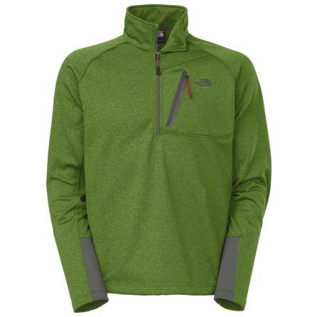 The North Face Canyonlands 1/2-Zip Fleece Top (Men's) - Adder Green Heather