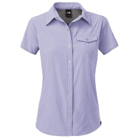 The North Face Short Sleeve Taggart Shirt (Women's) - Lavendula Purple Heather