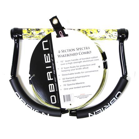 O'Brien 4-Section Wakeboard Rope and Handle Combo -