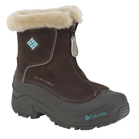 Columbia Bugaboot Plus Zip Omni-Heat Boot (Girls') -