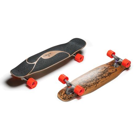 Loaded Poke Carving Skateboard -