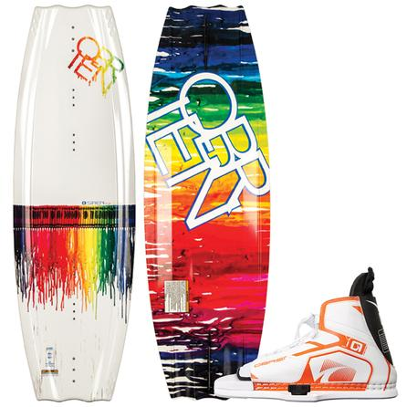 O'Brien 119 Siren Jr Wakeboard Package with 5-8 Nova Boots (Kids') -
