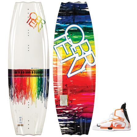 O'Brien 135 Siren Wakeboard Package with 6.5-9.5 Nova Boots (Women's) -