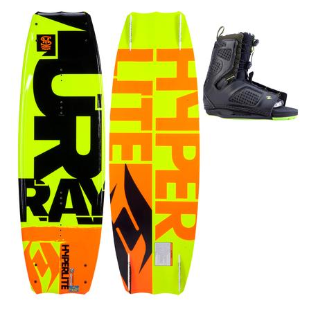 Hyperlite 137 Murray Wakeboard Package with 7-10.5 Team OT Boots (Men's) -