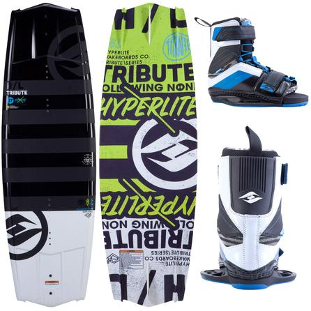 Hyperlite 137 Tribute Wakeboard Package with 7-10.5 Focus Boots (Men's) -