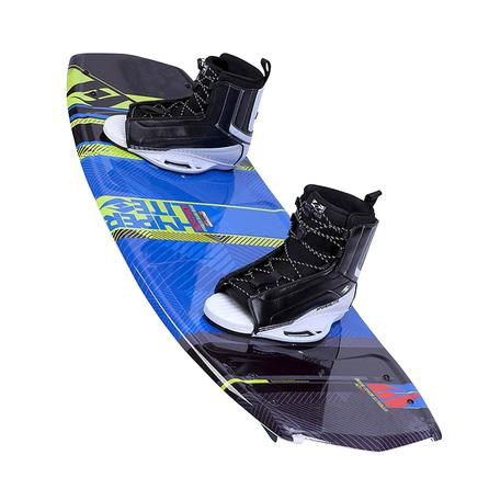 Hyperlite 139 Forefront Wakeboard Package with 7-10.5 Remix Boots (Men's) -