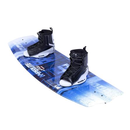 Hyperlite 130 State 2.0 Wakeboard Package with 4-8 Remix Boots (Men's) -