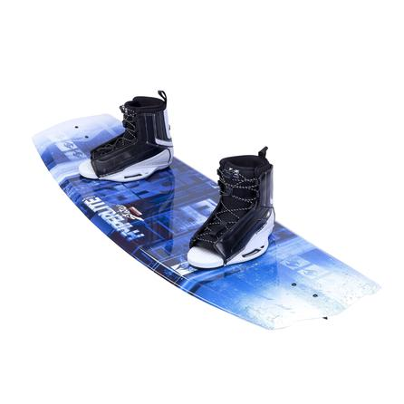 Hyperlite 140 State 2.0 Wakeboard Package with 7-10.5 Remix Boots (Men's) -