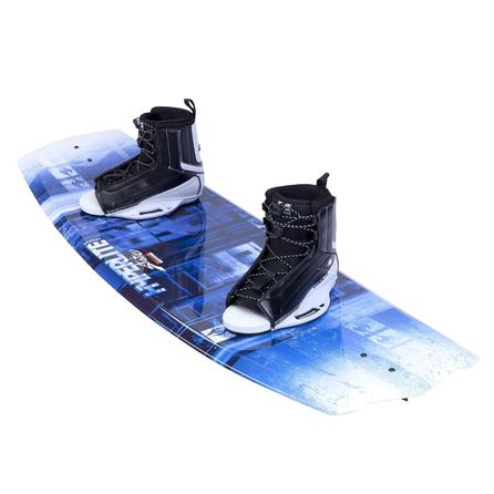 Hyperlite 140 State 2.0 Wakeboard Package with 10-14 Remix Boots (Men's) -