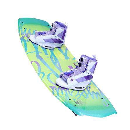 Hyperlite 134 Jade Wakeboard Package with 8-11 Jinx Boots (Women's) -