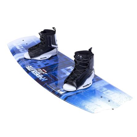 Hyperlite 125 State 2.0 Wakeboard Package with 4-8 Remix Boots (Men's) -